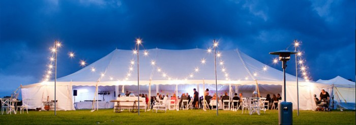 wedding-peg-pole-marquee-for-hire-lighting